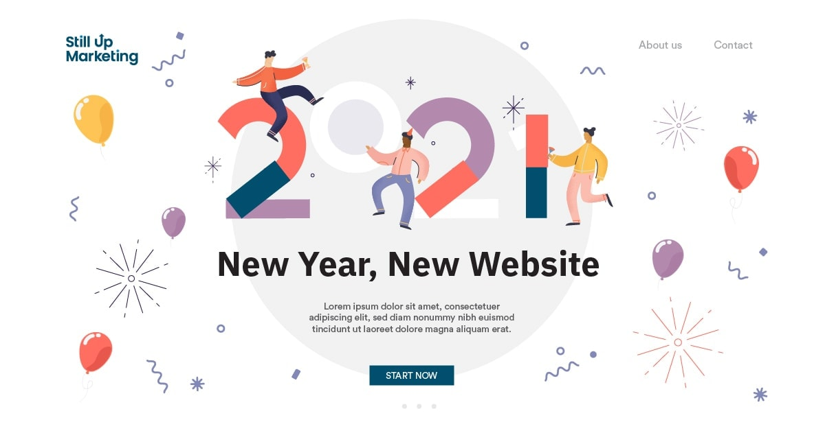 New Year, New Website – Time for a website redesign?